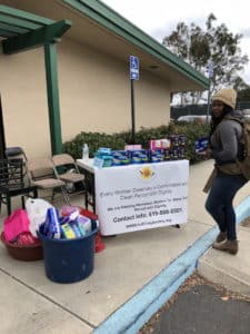 Donation drive in front of Shawline St. Walmart! @ San Diego | California | United States